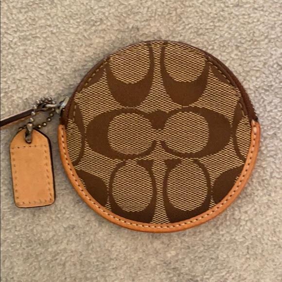 Coach coin pouch